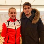 At Lonato with Charles Leclerc